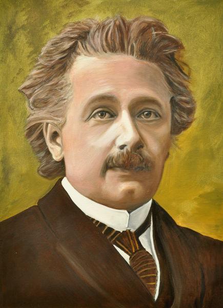 Albert Einstein, Gemälde