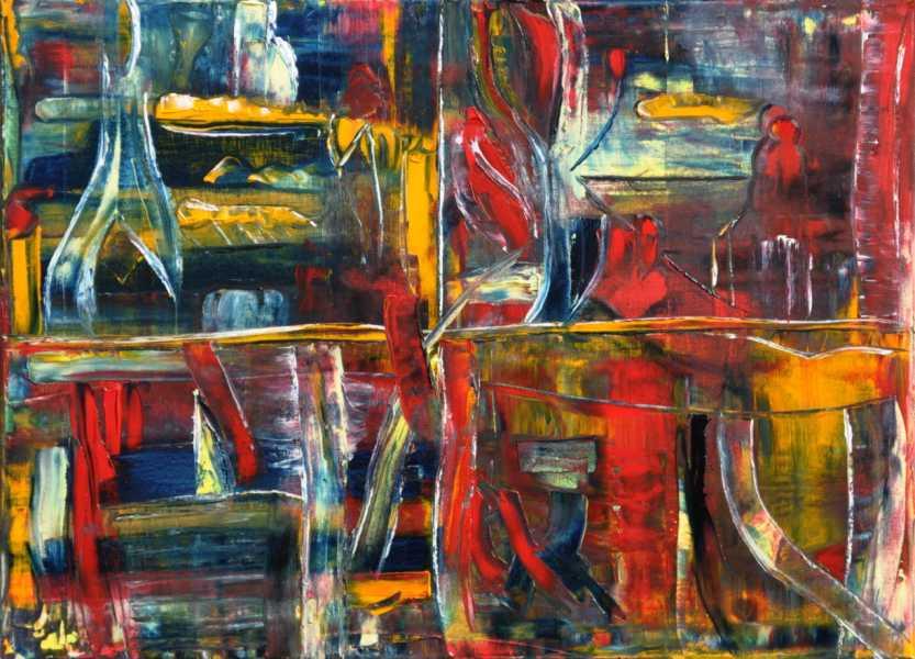 Im Atelier, Gemälde